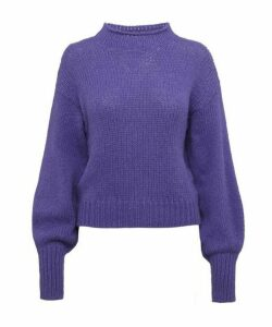Noche Perkins High-Neck Alpaca-Blend Sweater