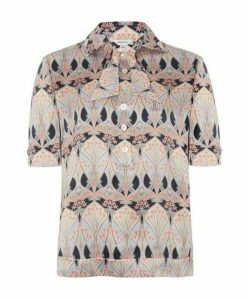 Etoile De Mer Silk Satin Shirt