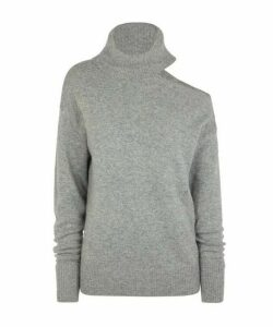 Raundi Cut-Out Wool-Blend Sweater