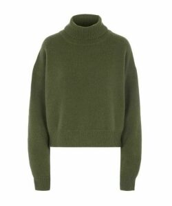 Lyn Cashmere Roll-Neck Jumper