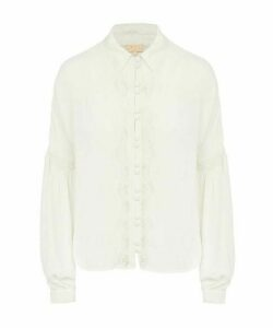 Lace Bell-Sleeve Shirt