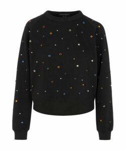 Rainbow Rhinestones Sweatshirt