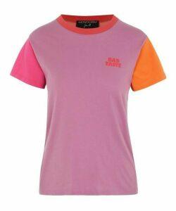 Bad Taste Colour Block T-Shirt