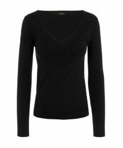 V-Neck Silk Knit