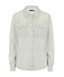 Lurex Patch Pocket Shirt