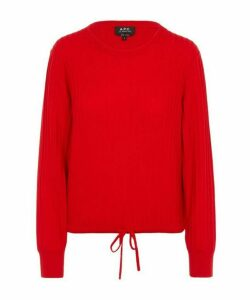 Taeko Ribbed Merino Wool Jumper