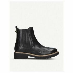 Kurt Geiger London Reina brogue leather Chelsea boots, Size: EUR 41 / 8 UK WOMEN