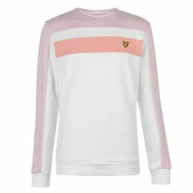 Lyle and Scott Colour Block Sweatshirt