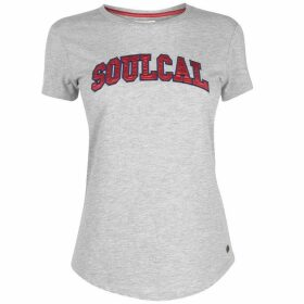 SoulCal Deluxe Satin Logo T Shirt