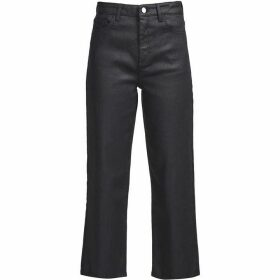 French Connection Raisa Shine Denim Culottes