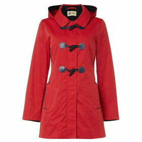 Covert Overt Cotton Hooded Toggle Jacket