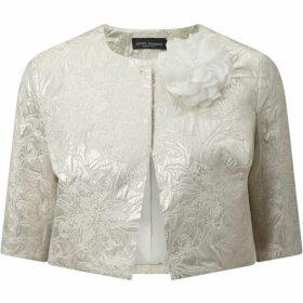 James Lakeland Shimmer Short Jacquard Jacket