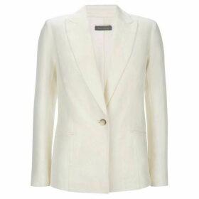 Mint Velvet Ivory Tailored Blazer