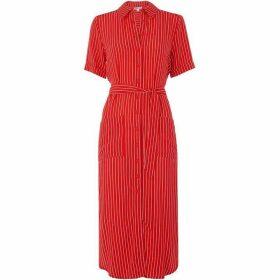 Whistles Montana Stripe Shirt Dress