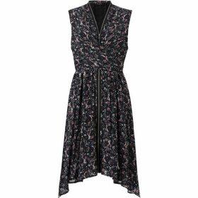 All Saints Jayda Sketch Dress