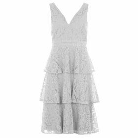 Little Mistress Tiered Midi Dress