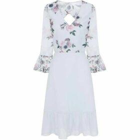 Chi Chi Floral Print Midi Dress