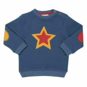Kite Toddler Quilted Star Sweatshirt