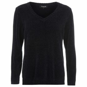 Firetrap Blackseal Chenille Knitted Jumper