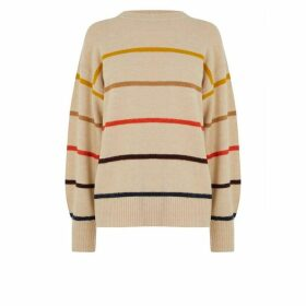 Warehouse Cosy Fine Stripe Jumper