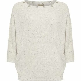 Phase Eight Floriana Fleck Eyelet Knit Jumper