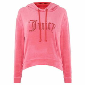 Juicy Couture Valentine Gothic Logo Hooded Pullover