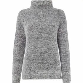 Label Lab Manni fluffy asymmertic wrap jumper