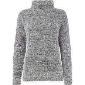 Label Lab Manni fluffy asymmertic wrap jumper