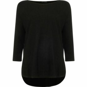 Phase Eight Megg Curve Hem Knitted Jumper