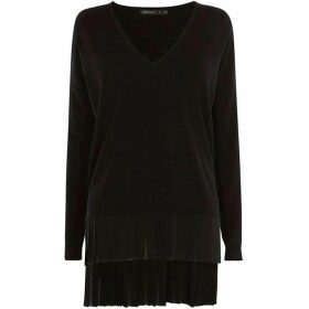 Karen Millen Panel Fabric Jumper