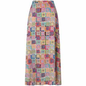 James Lakeland Long Print Skirt