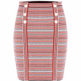 Damsel in a Dress Lyn Stripe Knitted Skirt