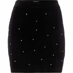 Fashion Union Embellished diamante skirt