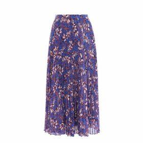 Karen Millen Floral Pleated Skirt