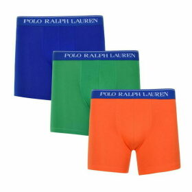 Polo Ralph Lauren Bodywear Three Pack Of Boxer Shorts
