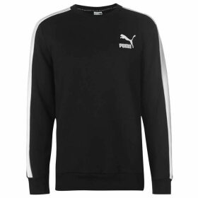 Puma T7 Logo Crew Fleece Sweater