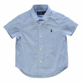 Polo Ralph Lauren Short Sleeve Gingham Poplin Shirt