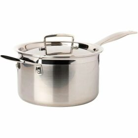 Le Creuset 3-Ply Stainless Steel Saucepan