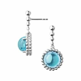 Links of London Effervescence Gems Sterling Silver & Blue Topaz D