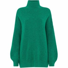 Whistles Oversized Funnel Neck Knit
