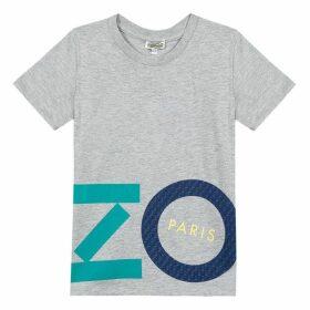 Kenzo Kid Boy Tee-Shirt Grey