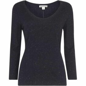 Whistles Annie Sparkle Scoop Neck
