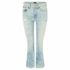 Polo Ralph Lauren Chrystie Kick Flare CropJeans