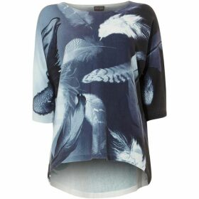 Phase Eight Faith Feather Print Knit
