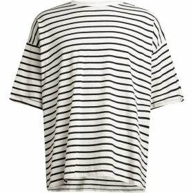 All Saints Kleve Stripe Short Sleeve Crew T-Shirt