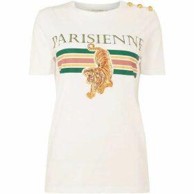 Sofie Schnoor Tiger front t-shirt