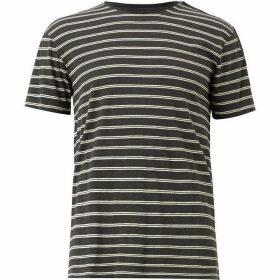 All Saints Figure Stripe Crew T-Shirt