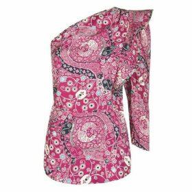 Isabel Marant Etoile Carina One Shoulder Top
