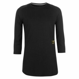 Under Armour Perpetual T Shirt Mens - Black