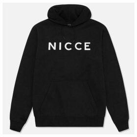 Nicce Large Logo Hoodie - Black